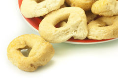 Taralli bagels Royalty Free Stock Photos