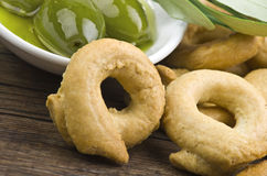 Taralli biscuit Royalty Free Stock Photos