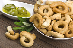 Taralli biscuit Royalty Free Stock Image