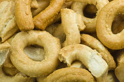 Taralli biscuit Royalty Free Stock Images