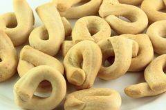 Taralli biscuits Royalty Free Stock Image