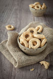 Taralli snacks Royalty Free Stock Photo