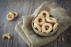 Taralli snacks Royalty Free Stock Image