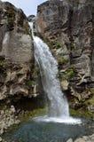 Taranaki瀑布,新西兰 图库摄影