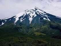 Taranaki berg Nya Zeeland Royaltyfria Bilder