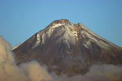 Taranaki en la puesta del sol Fotografía de archivo libre de regalías