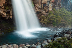 Taranaki Falls, New Zealand Stock Photo
