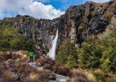 Taranaki Falls Stock Image