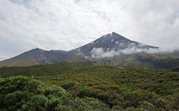 Taranaki volcano Royalty Free Stock Photography