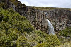 Taranaki-Wasserfall, Neuseeland Lizenzfreies Stockfoto