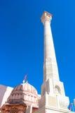 Taranga hills jain temple digambara tower Stock Photo
