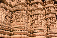 Taranga Jain Temple stone carving Stock Photos