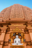 Taranga Jain Temple stone carving Royalty Free Stock Photos