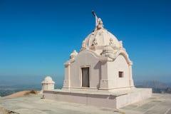 Taranga wzgórzy jain świątynia obraz royalty free