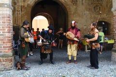 Tarantasica Castello Visconteo Pandino - giugno 2018 dell'IL 3 fotografia stock libera da diritti