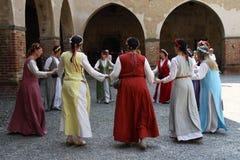 Tarantasica Castello Visconteo Pandino - giugno 2018 dell'IL 3 immagine stock