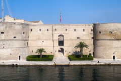 Taranto (Apulia, Italy) - Old castle on the sea Royalty Free Stock Images