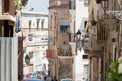 Taranto, Apulien - 31. MAI 2017 - lebend als Mitglied des worki lizenzfreies stockfoto