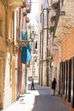 Taranto, Apulien - 31. MAI 2017 - Touristen, die Fotos während VI machen lizenzfreie stockbilder