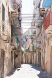 Taranto, Apulien - wo Zeit scheint, zurück zu dem midd gedreht zu werden stockfotografie