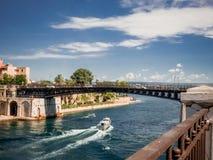 The taranto bridge on the taranto canalboat Royalty Free Stock Photography