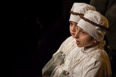TARANTO wielkanocy folklor fotografia royalty free
