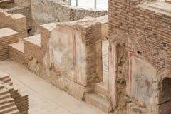 Tarasów domy w Ephesus Antycznym mieście Zdjęcie Royalty Free