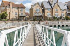 Tarasów domy w Kent Obraz Royalty Free