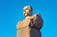 Taras Shevchenko monument Royaltyfri Bild