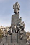 Taras Shevchenko monument in Kharkov Stock Image