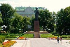 Taras Shevchenko monument, Kiev Royalty Free Stock Photo