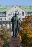 Taras Shevchenko monument Royalty Free Stock Photography