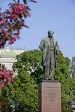 Taras Shevchenko monument in Kyiv Royalty Free Stock Photo