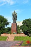 Taras Shevchenko monument, Kyiv, Ukraine Royalty Free Stock Photo