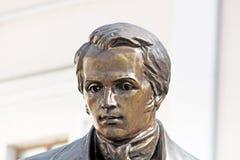Taras Shevchenko monument, Vinnytsia Royalty Free Stock Image