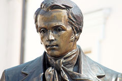 Taras Shevchenko monument, Vinnytsia Royalty Free Stock Photo