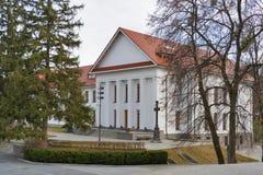 Taras Shevchenko museum in Kaniv Stock Photo
