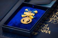 Taras Shevchenko National Prize von Ukraine Stockbild