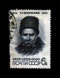 Taras Shevchenko, poeta ucraniano famoso, circa 1964, Fotografía de archivo
