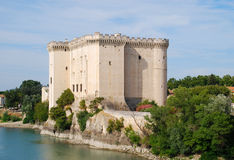 Tarascon Castle Stock Images