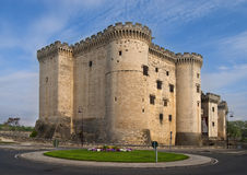 Tarascon castle Royalty Free Stock Photo