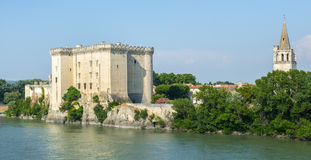Tarascon, castle Royalty Free Stock Image