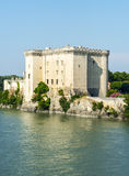 Tarascon, castle Stock Image