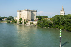 Tarascon, castle Stock Photos
