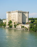 Tarascon, castle Stock Photo