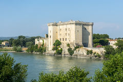 Tarascon, castle Royalty Free Stock Photos
