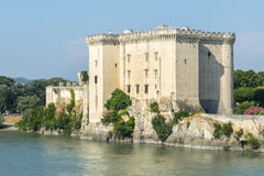 Tarascon, castle Stock Images