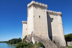 Tarascon Castle stock photo