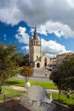 Tarascon Church View With Tarasque Sculpture Royalty Free Stock Image