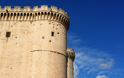 tarascon d'extérieur de château Image stock